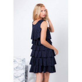 DRESS PETRA PLEATED