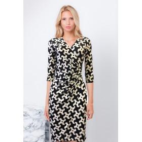 LISA TREFOIL DRESS