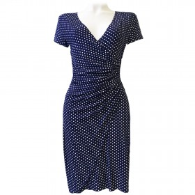 ROBE LISA VISCOSE POIS