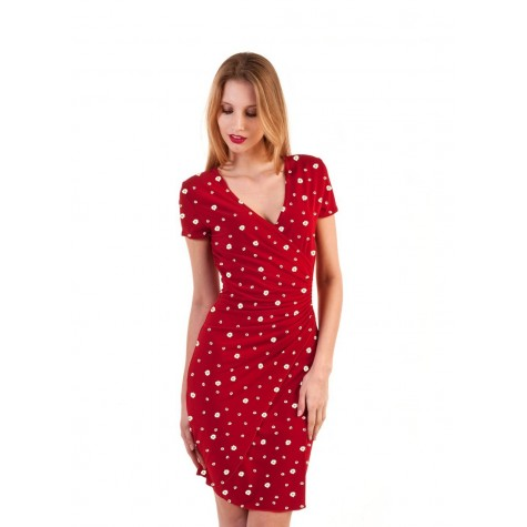 ROBE LISA VISCOSE PAQUERETTE
