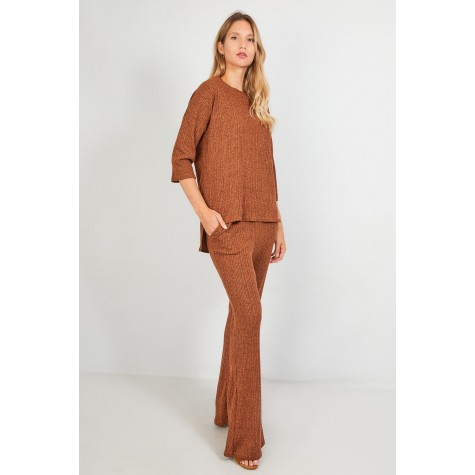 SET PULL FLARE PANT PUNCH
